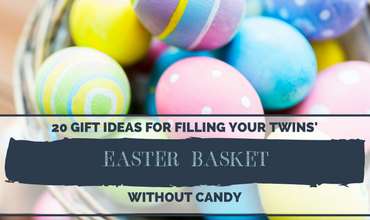 20 Gift Ideas for Filling Your Twins' Easter Baskets Without Candy