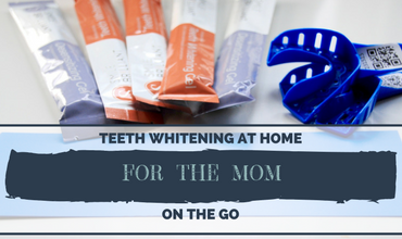 Teeth Whitening at Home for the Mom on the Go!