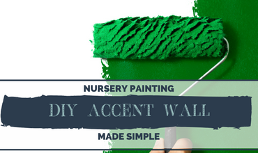 Nursery Painting Made Simple: DIY Accent Wall
