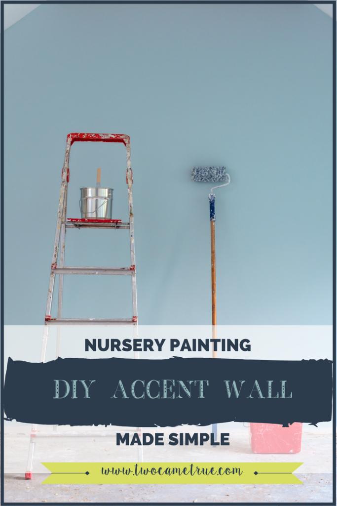 diy nursery decor, diy accent wall, home decor, nursery inspiration, nursery, diy home